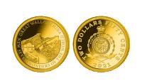 Zlatá mince Velká činská zeď