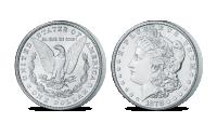 Stříbrná mince Morgan z kolekce Americké stříbrné dolary
