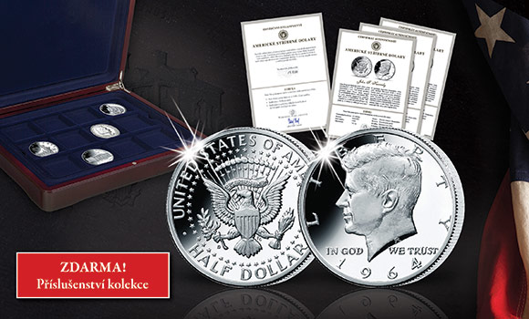Příslušenství ke kolekci Americké stříbrné dolary