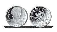 Stříbrné pamětní medaile největší osobnosti českého národa - Božena Němcová