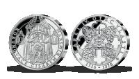 Korunovace Karla IV. římským císařem v ryzím stříbře