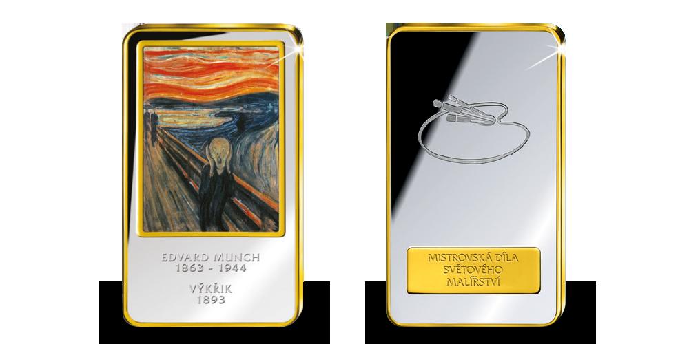 Mistrovská díla světového malířství - Výkřik