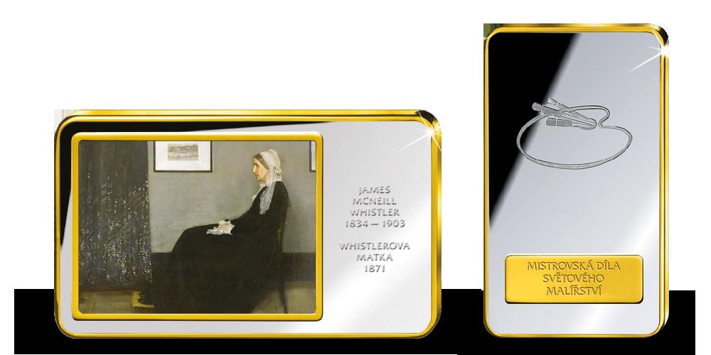 Mistrovská díla světového malířství - Whistlerova matka