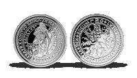 Nejvýznamnější české mince - Dvoutolar Štěpána Šlika zušlechtěný stříbrem