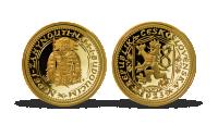 Nejvýznamnější české mince - Svatováclavský dukát zušlechtěný zlatem