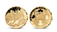 Život Karla IV. na pamětních medailích zušlechtěných ryzím zlatem - Vyšehrad