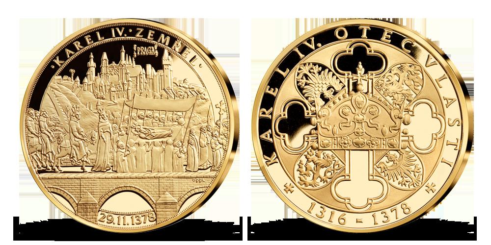 Život Karla IV. - Královský pohřeb