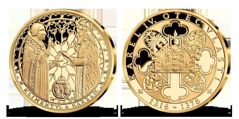 Život Karla IV. - Karel IV. a papež Klement VI.