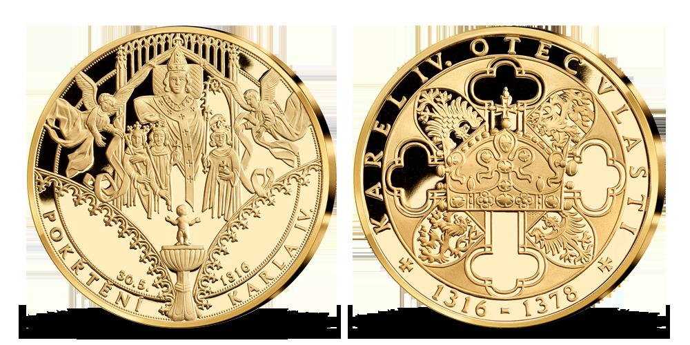 Život Karla IV. - Křtiny Karla IV.