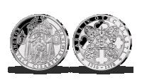 Stříbrná pamětní medaile Korunovace římským císařem