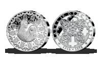 První pamětní medaile - 700. výročí narození Karla IV.