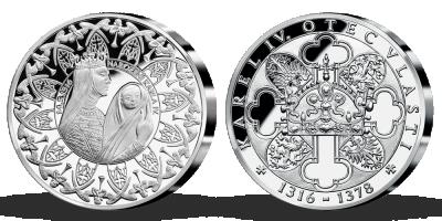 Kolekce: Život Karla IV. ve stříbře