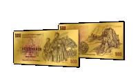 Zlaté československé bankovky - 500 Kčs