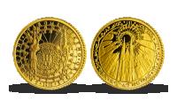 Zlatá pamětní medaile Magická Praha - Orloj