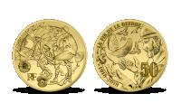 Mír 1918 - 2018, konec 1. světové války na certifikovaném zlatě