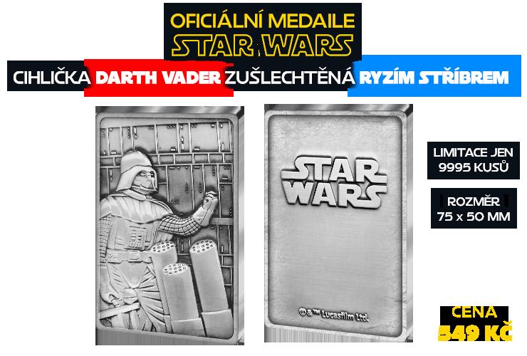 Oficiální medaile Star Wars, Darth Vader