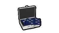 Mincovní kufr CARGO S6 pro 144 mincí