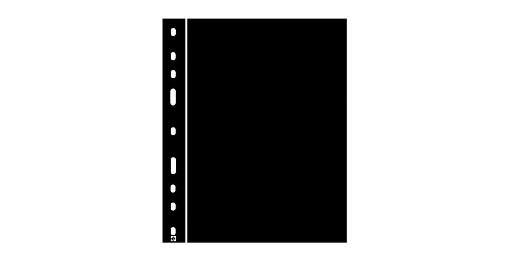Mincovní obal Optima černý