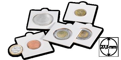 Mincovní rámeček MATRIX - průměr 27,5 mm, 100 ks