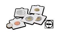 Mincovní rámeček MATRIX - průměr 25 mm, 100 ks