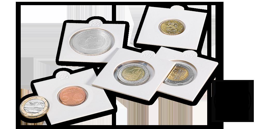 Mincovní rámeček MATRIX - průměr 39,5 mm, 100 ks