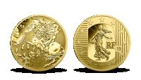 Napoleon v bitvě u Slavkova, ražba do certifikovaného zlata