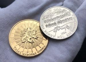 Pamětní medaile zdarma pro všechny! Slavíme 185. výročí české hymny!