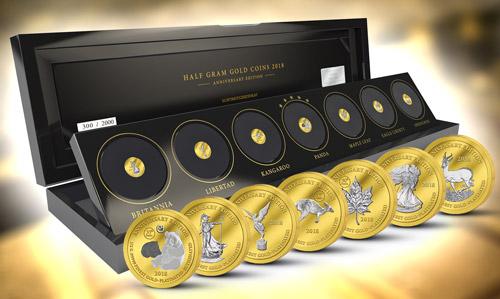 Bullion coins – pýcha světových mincoven