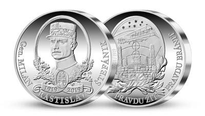 Ražba dne - 100. výročí Milana Rastislava Štefánika
