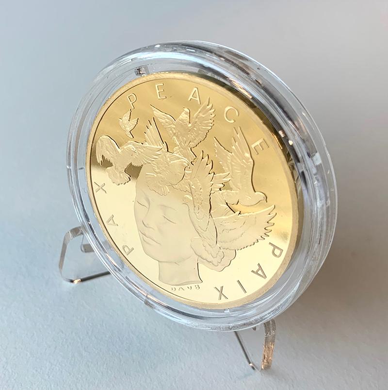 Unikátní ražba z Fairmined zlata - 75. výročí od konce 2. světové války
