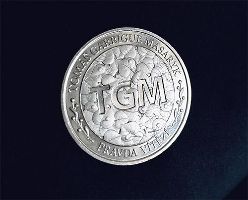Pamětní medaile T. G. Masaryk zdarma - avers