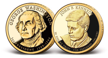 Získejte Kennedyho prezidentský dolar ZDARMA