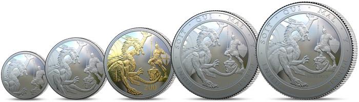 Unikátní sada legendárních stříbrných Sovereignů