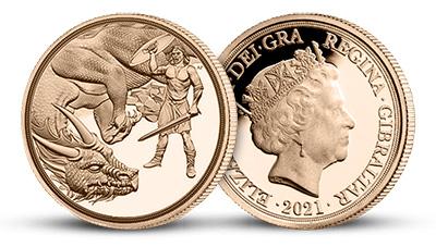 Zlatá mince Quarter Sovereign