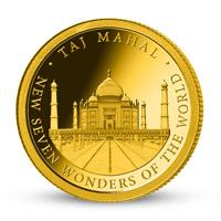 Zlatá mince Tádž Mahal