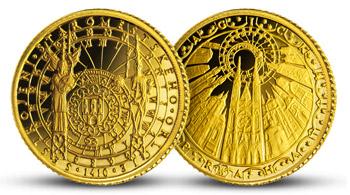 Staroměstský orloj ve 14karátovém zlatě
