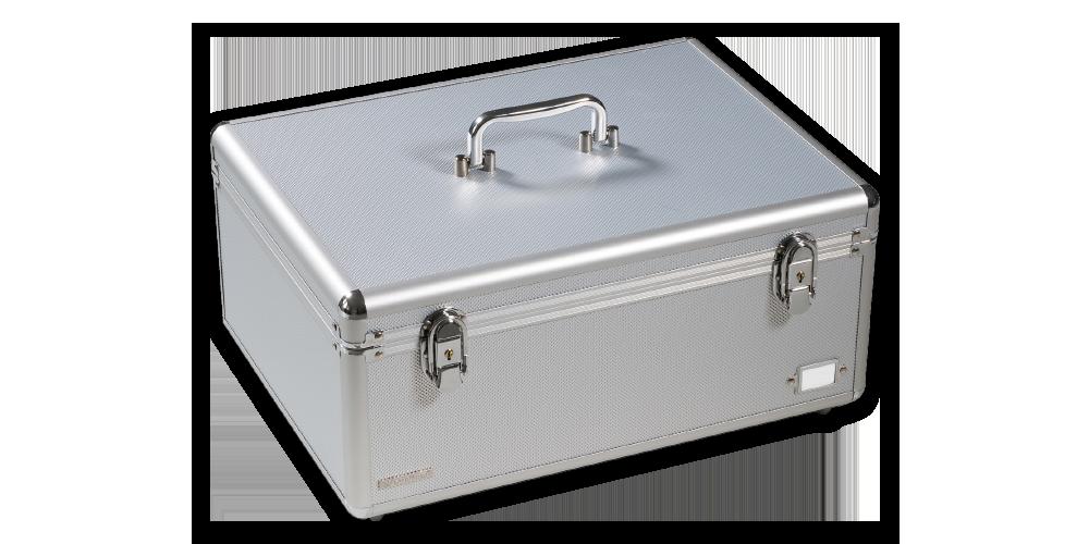 Numismatický kufr CARGO MULTI XL, stříbrný