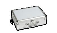 Numismatický kufr CARGO S stříbrný