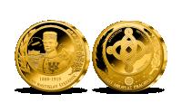 M. R. Štefánik na pamětní medaili s úctyhodným průměrem