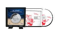 Pamětní medaile 75. výročí konce druhé světové války a vzpomínkové CD
