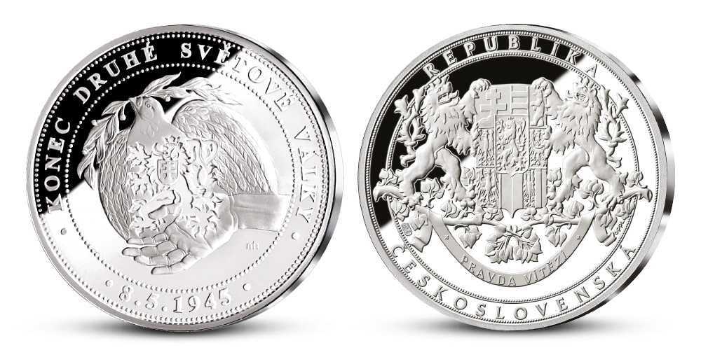 Pamětní medaile 75. výročí konce druhé světové války