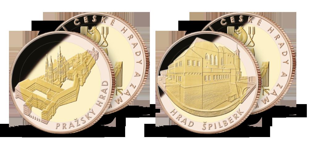 Pražský hrad a hrad Špilberk
