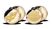 Pražský hrad a hrad Špilberk v exkluzivní sadě dvou pamětních medailí