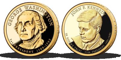 Kolekce: Prezidentské dolary