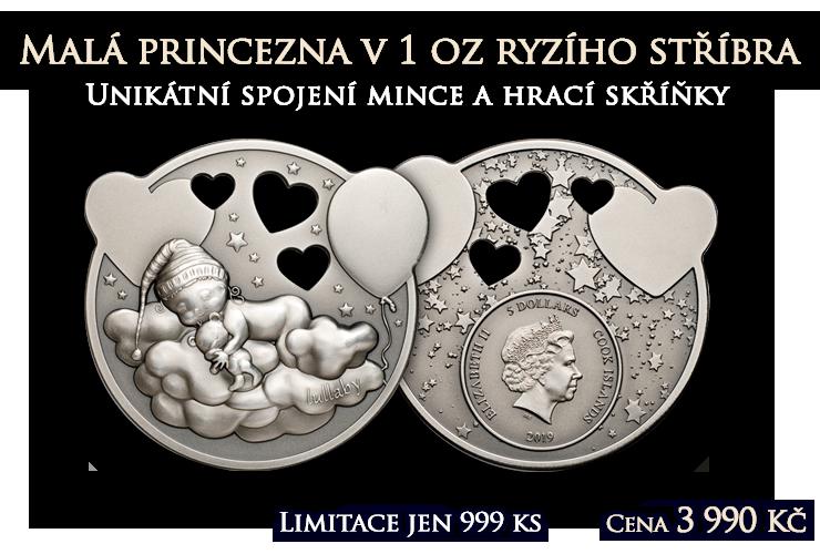 Malá princezna v jedné unci ryzího stříbra