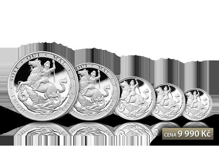 Sada 5 mincí Sovereign