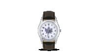 Elegantní náramkové elektronické hodinky s Javorovým listem