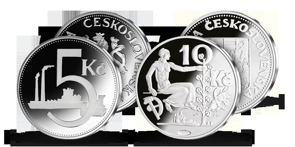 Poznejte vzácné československé mince