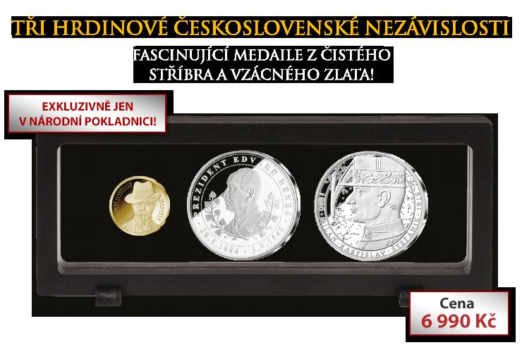 Tři hrdinové československé nezávislosti