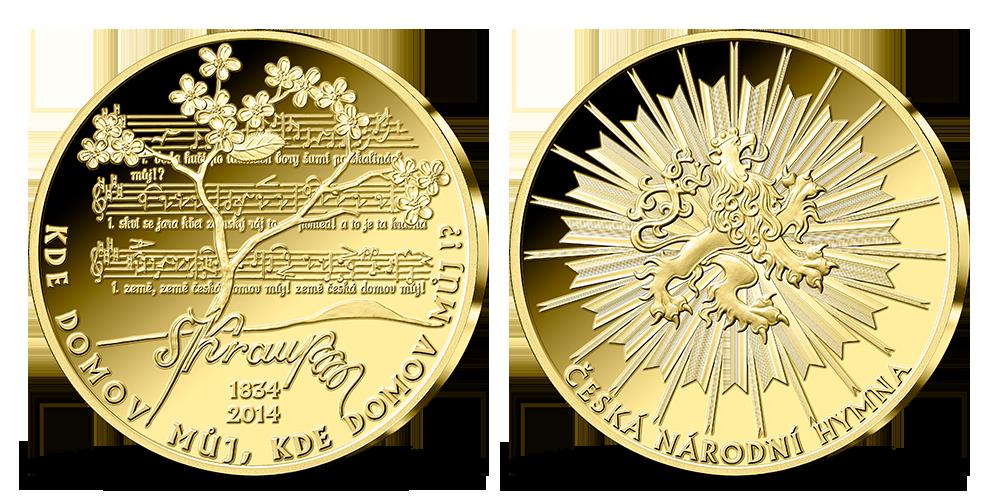 Sada medailí Významná výročí naší země v ryzím stříbře